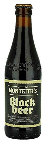Monteiths Black Beer 330ml – Case of 12