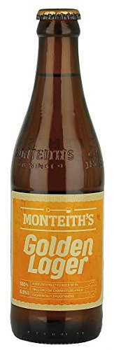 Monteiths Golden Lager 330ml – Case of 12