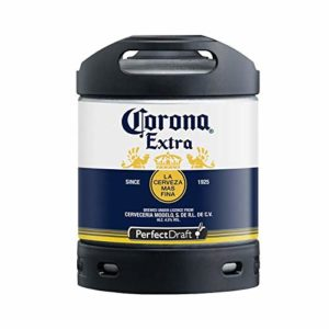 PerfectDraft Corona Extra Lager Beer keg for Philips Machine, 6 L