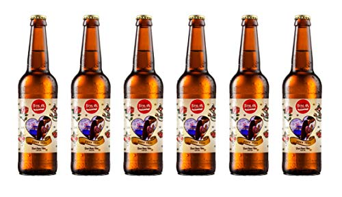 Personalised Valentines Day Craft Pilsner – Welsh Beer (Valentines Gifts For Him)