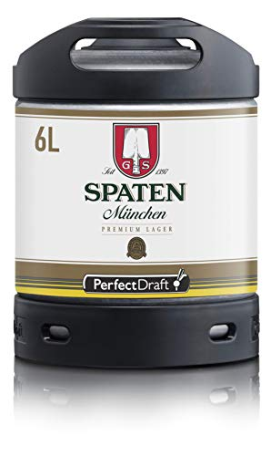 Spaten 1 x 6L Beer Keg for Perfect Draft Machine
