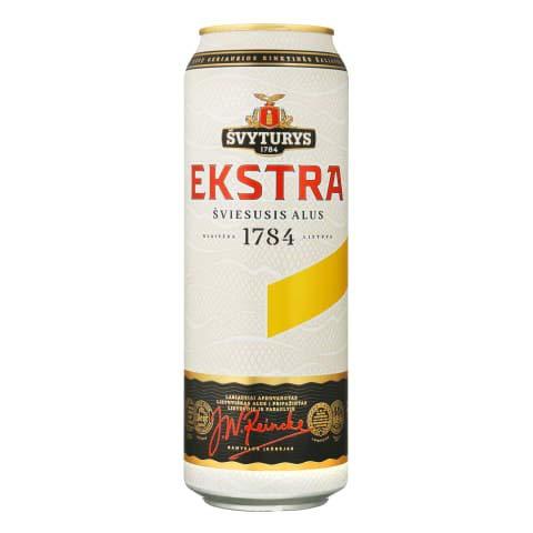 Svyturys Ekstra 5.2% Premium Lithuanian Lager 24 x 568ml cans