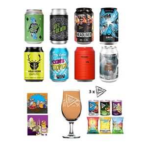 The Ultimate IPA Mixed Brewery Craft Beer Box: Featuring 8 Craft IPAs from 8 different breweries including 3 Bier…