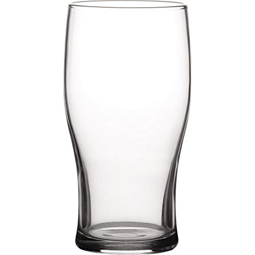 Tulip Toughened 20oz Pint Beer Glass Strong Durable Glass – 1