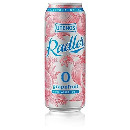 Utenos Non Alcoholic 0% Grapefruit Radler 24 x 500ml cans