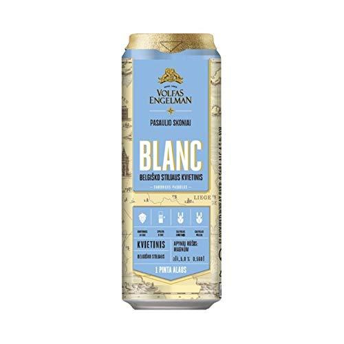 Volfas Engelman Blanc Belgian Style Wheat Ale 5% 24 x 568ml cans