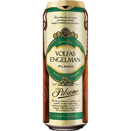 Volfas Engelman Pilzeno Premium Pilsner 4.7% 24 x 568ml