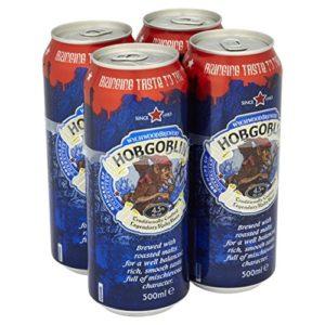 Wychwood Brewery Hobgoblin Ruby Beer, 4 x 500ml