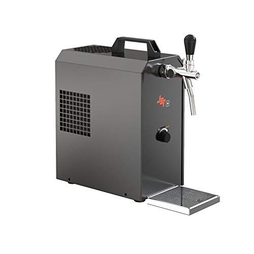 ich-zapfe JET 30K 1-line beer dispenser dry cooler with air pump, 30 liter/h beer case, flow cooler
